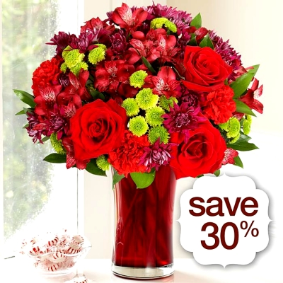 Flowers for the Holidays, on sale